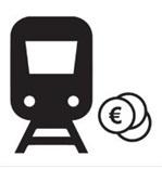 Piktogramm Fahrpreisermäßigung