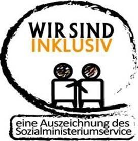 """Logo  """"Wir sind inklusiv"""""""