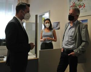 Bundesminister Mückstein besucht den Ärztlichen Dienst des Sozialministeriumservice – Landesstelle Wien