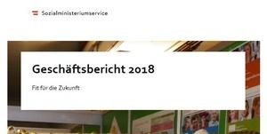 Coverbild Geschäftsbericht 2018