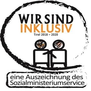 Logo Wir sind inklusiv 2018