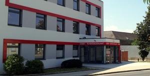 Foto vom Eingangsbereich der Landesstelle Burgenland