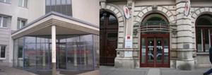 Foto des Eingangs der Landesstelle Niederösterreich