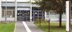 Foto des Eingangs der Landesstelle Oberösterreich