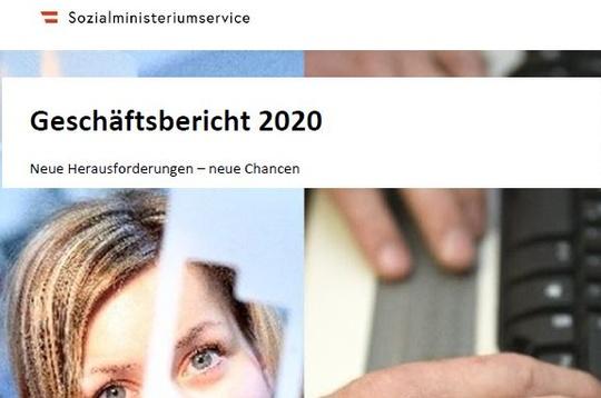 Cover Geschäftsbericht 2020